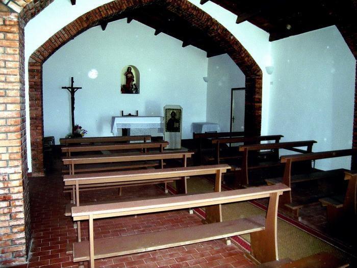 Interno della Chiesa di Santa Reparata a Santa Teresa Gallura