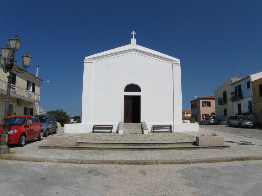 Chiesetta di Santa Lucia situata nella zona antica di Santa Teresa Gallura