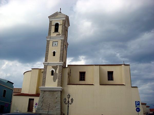 Chiesa principale di Santa Teresa Gallura intitolata a San Vittorio